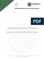 Lineamientos Tecnicos Repositorio Nacional y Repositorios Institucionales