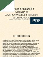 Presentacion, Logistica Para La Distribucion Del Producto