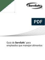 Guia de ServSafe Para Empleados Que Manejan Alimentos
