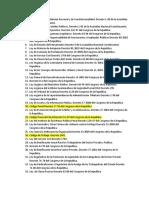 Leyes de Examen 2019 Fase Publica