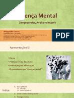 documento sobre doença mental