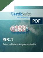 Webinar Presentation MEPC 71