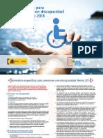 Folleto Normativa Discapacidad 2018
