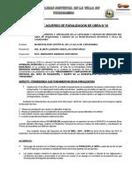 Acta de Acuerdo de Paralizacion de Obra