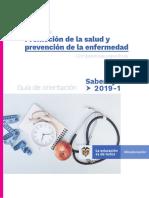 Guia de Orientacion Modulo de Promocion de La Salud y Prevencion de Le Enfermedad Saber Tyt 2019-1