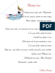 Poesia Menina Luz Odalia Araujo