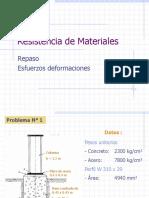 Cap I - Esfuerzo y Deformación (Problemas Propuestos)