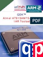 Qdk Arm-iar At91sam7s