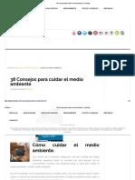 38 Consejos para cuidar el medio ambiente - BricoBlog.pdf
