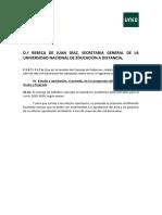 Calendario Académico y Administrativo 19-20