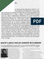 Über Sonate Nr.1