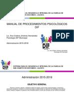 Manual de Procedimientos Psicología Dif