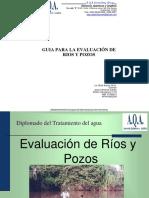 Evaluación de Ríos y Pozos 2016
