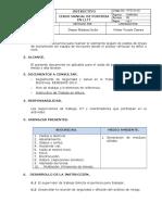 VYT-I-O-101 Izado Manual de Posteria en LLTT Rev.0