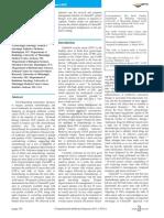 translational medicine reports  - efficacy of chemoid ovarian cancer