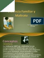 Violencia Familiar y Maltrato