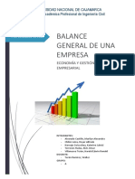 Modelo de Balance General de una empresa