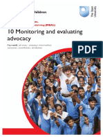 Monitoring and Evaluation program