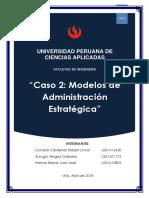 Modelos de Administración Estratégica