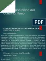 el consonantismo del latín al español