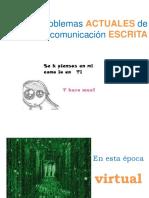 Problemas actuales en la Comunicación Escrita.pdf