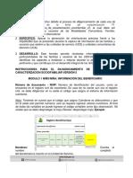 Instructivo Ficha de Caracterización Sociofamiliar V5 140519