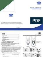 Remote Controller Manual QHM En