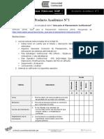 Producto Académico N3 (3) Presupuestos y FInanzas Mapa