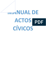 Manual de Actos Cívicos