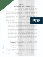 Junta Electoral 2019 - Acta 9 Oficialización Cne