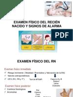 Examen Fisico y Signos de Alarma Del RN