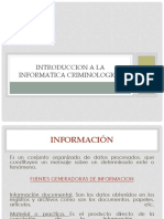 Introduccion a La Informatica Criminologica