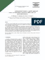 Analysis of Pharmaceutical Creams