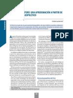Objetivos Del Peru - Una Aprox a Partir de Su Potencial Geopolítico