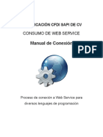 Manual ConsumoWebService