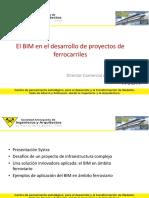 13. El BIM en El Desarrollo de Proyectos de Ferrocarriles