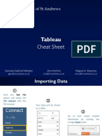 Tableau Cheat Sheet