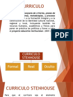 Currículo - Desarrollo y Evaluación de Competencias.