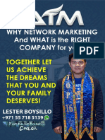 Slide 1 - Why Network Marketing - Coach Lester