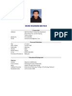 Resume Zaxk