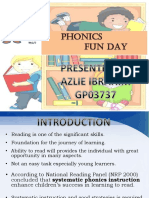 Phonics Fun Day (Concept Paper)