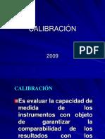 Calibración analitica