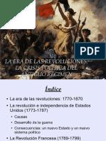 La Era de Las Revoluciones 1770 1870