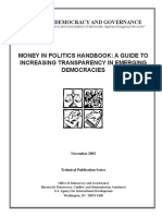 Money in Politics-A Study of Party Financing Practices in 22 Countries