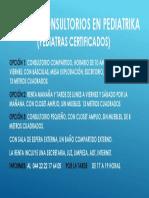 Renta de Consultorios en Pediatrika (Pediatras Certificados
