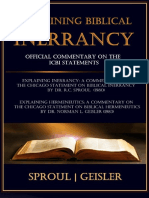 Explaining Biblical Inerrancy