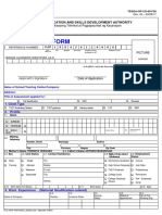 Uma Verde - Application Form