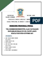 monografia de derecho procesal penal
