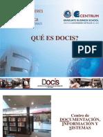 Presentación DOCIS.