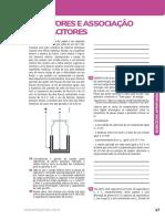 - Eletrostatica - Aprofundados - Capacitores e Associação de Capacitores